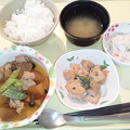 12月15日夕食(鶏肉と大根の煮込み) #病院食