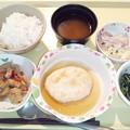 1月14日夕食(小判焼き) #病院食