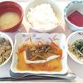 1月15日昼食(カレイの野菜あんかけ) #病院食