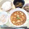 Photos: 5月19日夕食(麻婆豆腐) #病院食