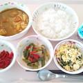 Photos: 5月22日昼食(シーフードカレー) #病院食