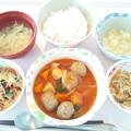 Photos: 5月23日昼食(肉団子の酢豚風) #病院食