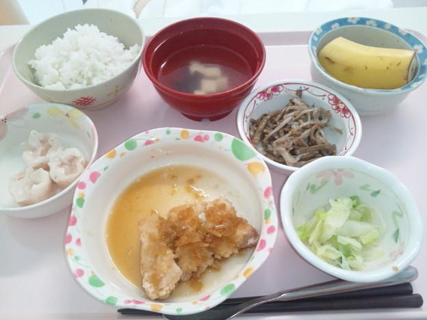 8月17日昼食(油淋鶏) #病院食