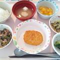 Photos: 8月20日昼食(コロッケ) #病院食