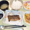 8月21日夕食(カレイの薬味焼き) #病院食