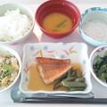 9月10日昼食(赤魚の煮付け) #病院食