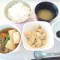 9月15日朝食(はんぺんの田舎煮) #病院食