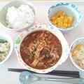 9月15日昼食(ハッシュドポーク) #病院食