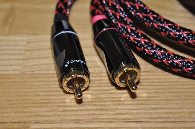 写真: pair quality RCA cable_2