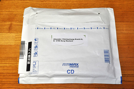 国際郵便 20190424