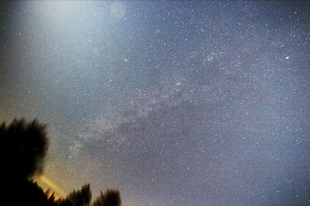 写真: 2015年12月19日 銀河系 白鳥座方面からペルセウス腕