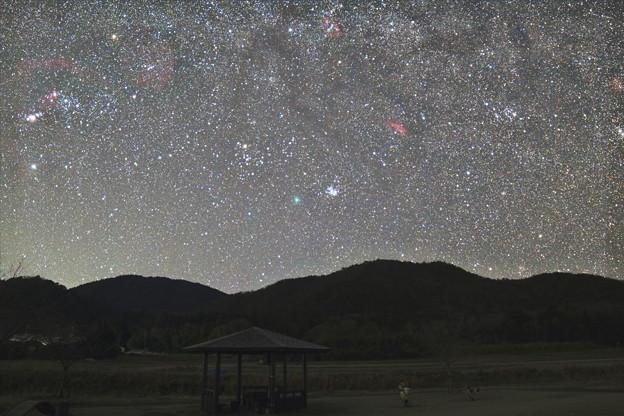 空に蒼い彗星