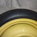 写真: T125/70D15-95Mテンパータイヤ