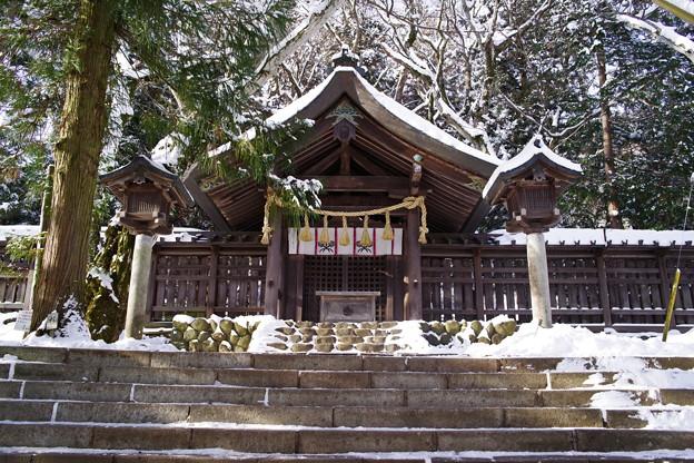 諏訪大社 上社前宮 拝殿