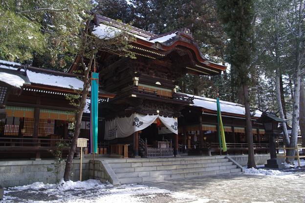 諏訪大社 下社秋宮 拝殿