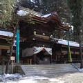 写真: 諏訪大社 下社秋宮 拝殿