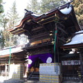 写真: 諏訪大社 下社春宮 拝殿