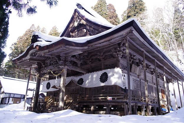 戸隠神社 宝光社 拝殿