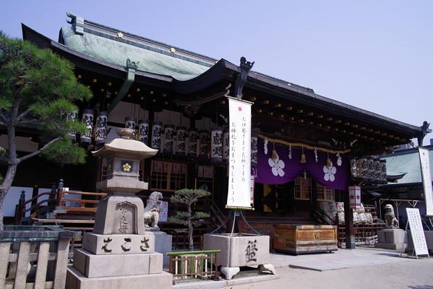 大阪天満宮 拝殿