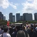 Photos: 東京駅まで団体行動
