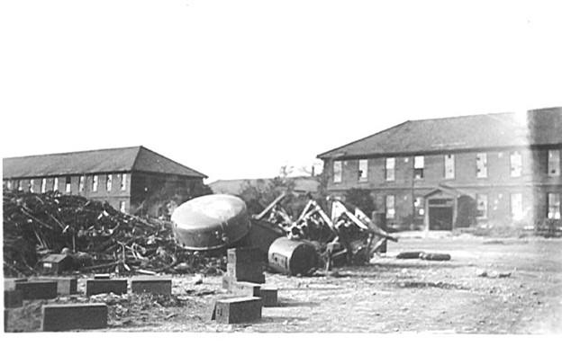 接収直後の熊谷陸軍飛行学校 1