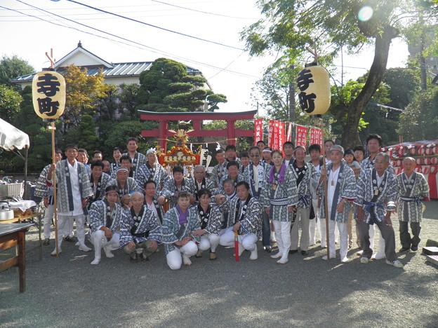 仙狐稲荷神社祭礼 平成25年10月13日