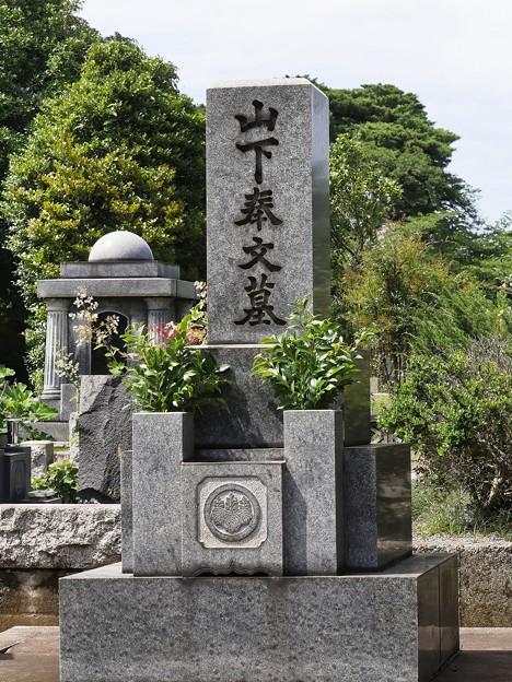 多磨霊園ー4