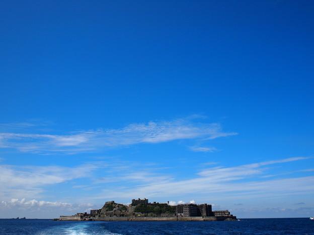 Photos: 端島(軍艦島)東岸