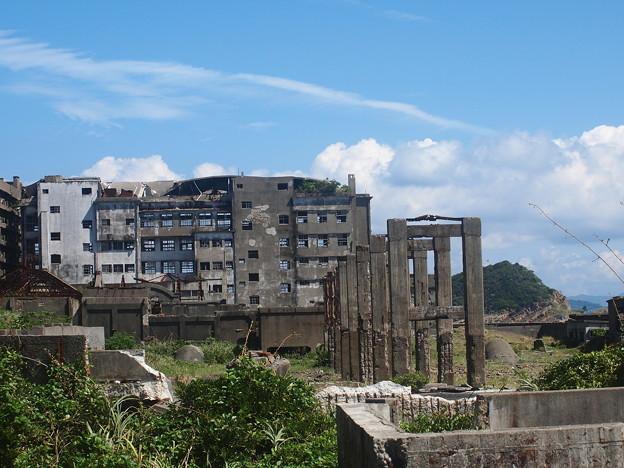 端島小中学校跡