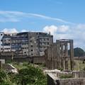 Photos: 端島小中学校跡