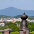 Photos: 叡山かすむ