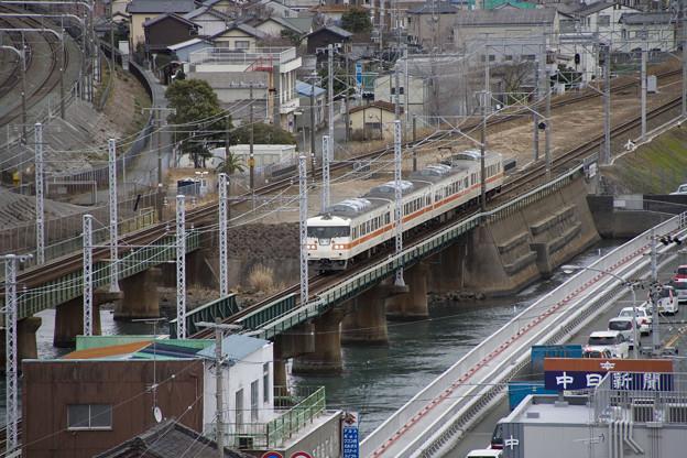 写真: 117系_東海道線_舞阪-弁天島