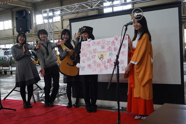 写真: 北神弓子誕生祭0208