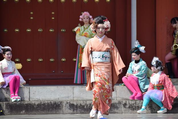 Photos: 天平きものガールズコレクション0167