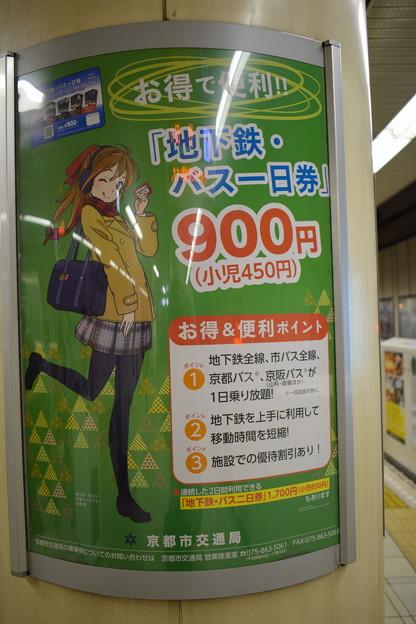 地下鉄京都駅の写真0002