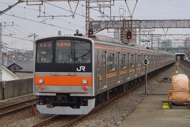205系M33編成 (1)