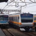 東京メトロ05系第20編成・E233系T13編成  (1)