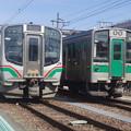 E721系P44編成・701系F2-501編成  (1)
