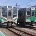 E721系P44編成・701系F2-501編成  (2)
