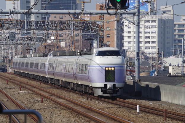 E351系S3編成+S23編成 (1)