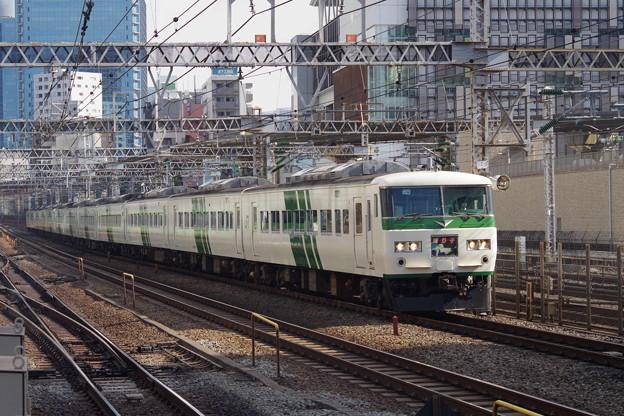 185系OM08編成+C2編成 (7)