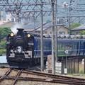 写真: C11 207+ヨ8634+14系+DE10 1099  (2)