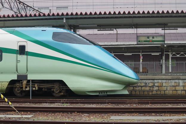 E3系R18編成 「とれいゆ」・福島駅名標 (1)
