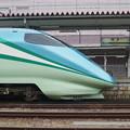 写真: E3系R18編成 「とれいゆ」・福島駅名標 (2)