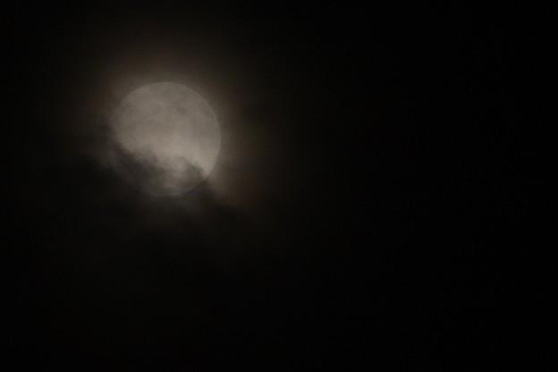 Photos: 形だけは満月
