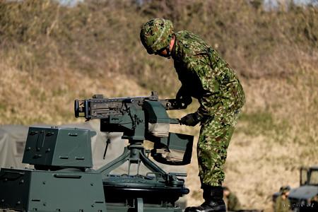 初降下_10式お片付け_機関銃-5376