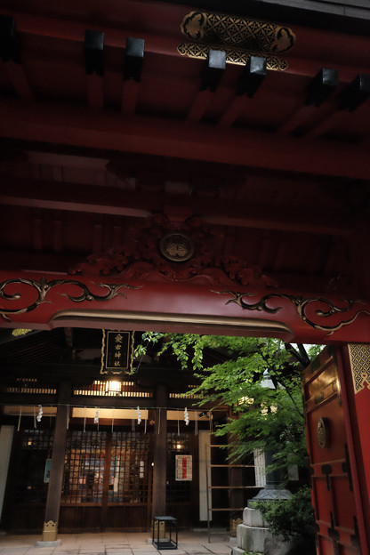 愛宕神社_拝殿-4141