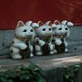 写真: 上之台稲荷神社_招き猫-7913
