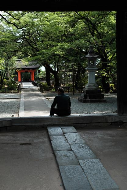 Photos: 恵林寺_ひと休み-7937