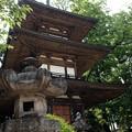 写真: 恵林寺_三重塔-4208